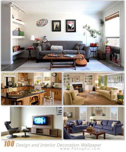 مجموعه عکس با کیفیت از دکوراسیون و طراحی داخلی برای دسکتاپ Design and Interior Decoration Wallpaper