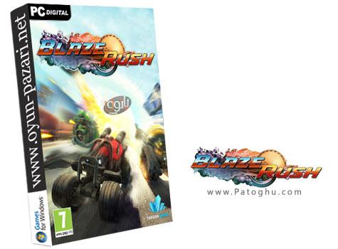 دانلود بازی اکشن ماشین جنگی برای کامپیوتر BlazeRush 2014