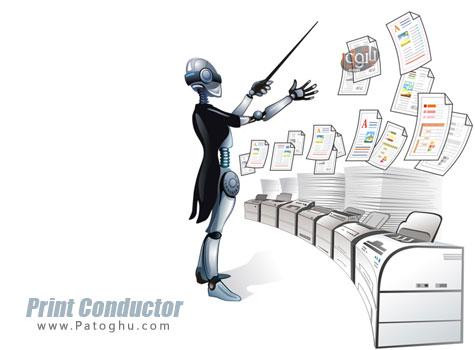 چاپ سریع و همزمان دسته ای از فایل ها Print Conductor 4.4.1410.28190