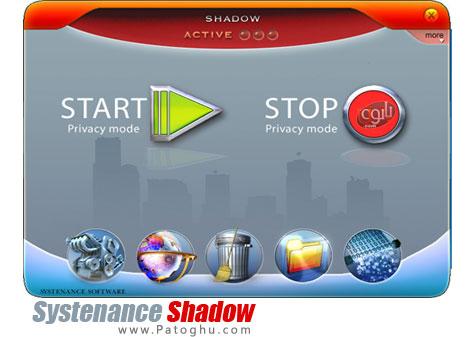 ابزاری ایده آل جهت پاکسازی ردپاهای اینترنتی در کامپیوتر Systenance Shadow Professional 2.9.1.100