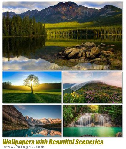 تصاویر زیبا و با کیفیت چشم اندازهای طبیعی برای دسکتاپ Wallpapers with Beautiful Sceneries