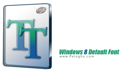 دانلود فونت اصلی ویندوز 8 Windows 8 Default Font