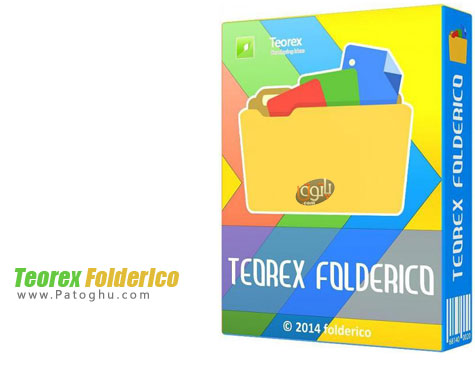 تغییر رنگ فولدرهای ویندوز Тeorex FolderIco 3.0