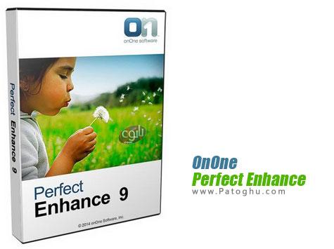 روتوش و ویرایش حرفه ای تصاویر OnOne Perfect Enhance 9.0 Premium