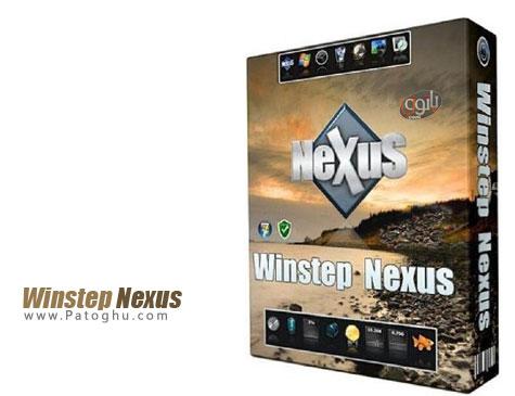اضافه کردن یک پانل بسیار زیبا به ویندوز جهت دسترسی سریع به برنامه ها Winstep Nexus 14.11