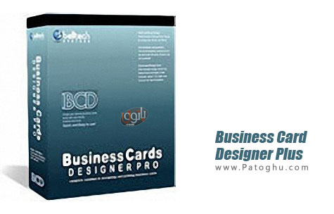O for Business card designer plus