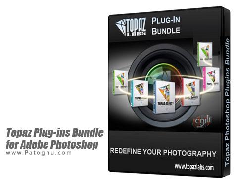 دانلود نسخه جدید مجموعه کامل پلاگین های topaz برای فتوشاپ Topaz Plug-ins Bundle for Adobe Photoshop DC 24.11.2014