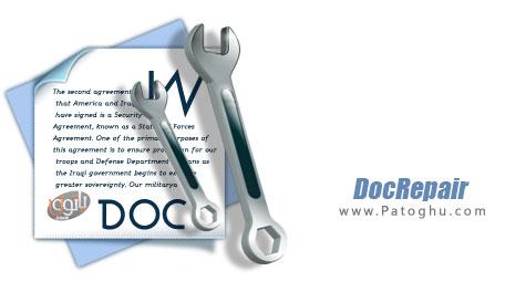 تعمیر و بازیابی فایل های ورد خراب شده DocRepair 3.10 Build 0710