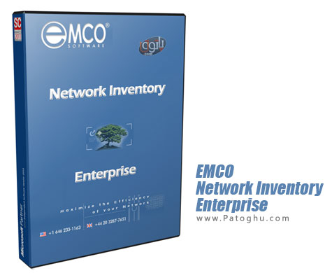 مانیتورینگ و مدیریت کامل شبکه EMCO Network Inventory Enterprise 5.8.9.9451