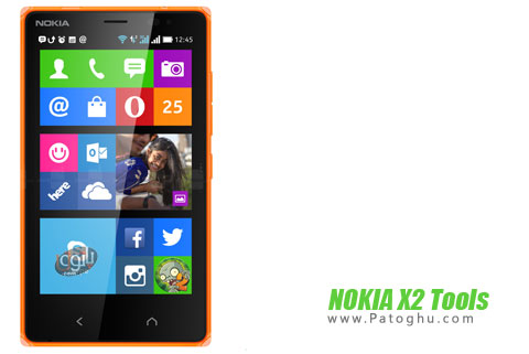 دانلود نرم افزار روت گوشی نوکیا X2 با NOKIA X2 Tools