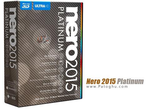 دانلود نرم افزار جامع کار روی فایل های چند رسانه ای نرو Nero 2015 Platinum 16.0.04200 Final