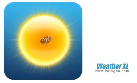 نرم افزار هواشناسی برای اندروید Weather XL v1.2.0