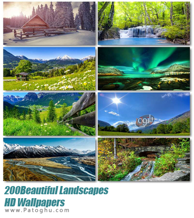 تصاویر بسیار زیبا و با کیفیت از طبیعت بکر برای دسکتاپ Beautiful Landscapes HD Wallpapers