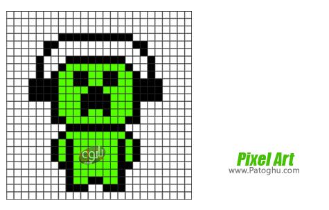 ساخت تصاویر پیکسلی Pixel Art 9.3