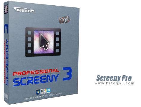 عکس برداری و فیلم برداری از دسکتاپ Screeny Pro 3.6.0