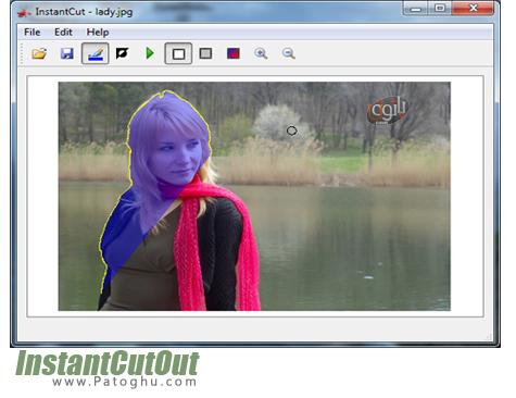حذف آسان اشیا در تصاویر InstantCutOut 1.1