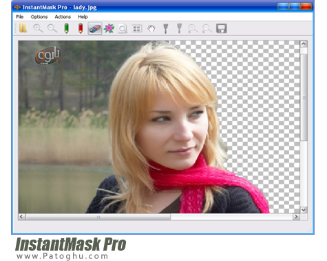 حذف پس زمینه تصاویر InstantMask Pro 2.8