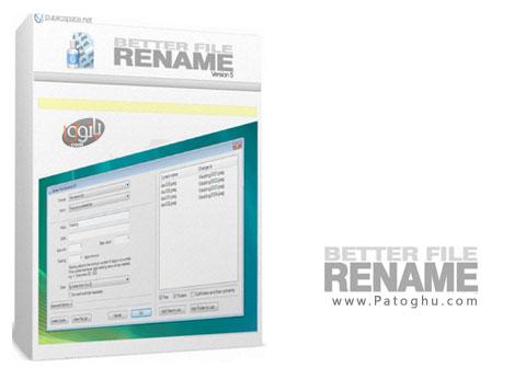 ابزاری مناسب برای تغییر نام فایل PublicSpace Better File Rename 5.52