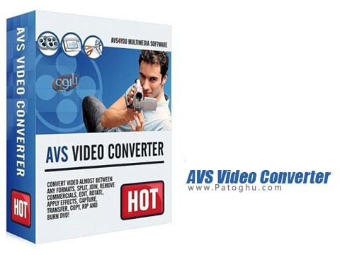 ویرایش ، رایت و تبدیل فرمت های مختلف ویدیویی AVS Video Converter