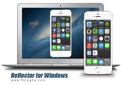 ارتباط آیفون و آیپد با کامپیوتر از طریق wifi با Reflector for Windows 1.5.0