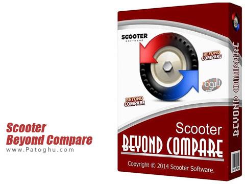 نرم افزار مقایسه فایل ها با یکدیگر Scooter Beyond Compare 4.0.3 build 19420