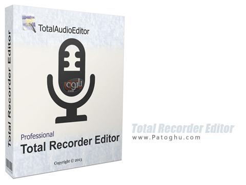 ابزاری حرفه ای جهت ویرایش و ضبط صدا Total Recorder Editor Pro 14.5.3