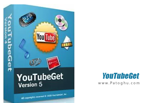 دانلود و تبدیل کلیپ و فیلم از یوتیوب YouTubeGet 6.3.5