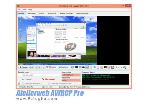نرم افزار حرفه ای برای کنترل کامپیوتر از راه دور Atelierweb AWRCP Pro 11.5.0.79