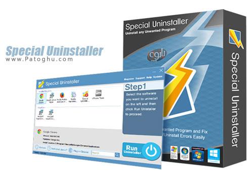 حذف کامل نرم افزارهای نصب شده Special Uninstaller