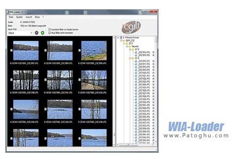 انتقال دسته ای تصاویر از دوربین و فلش به کامپیوتر WIA-Loader 1.8.6.8