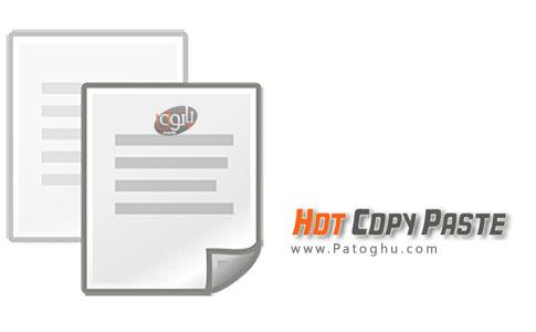 مدیریت کلیپ بورد و کپی اطلاعات با سرعت بالا Hot Copy Paste 7.0