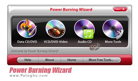 رایت سی دی و دی وی دی Power Burning Wizard 7.5.3