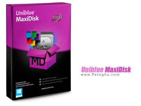 تعمیر و بهینه سازی هارد دیسک Uniblue MaxiDisk 2015 1.0.8.1