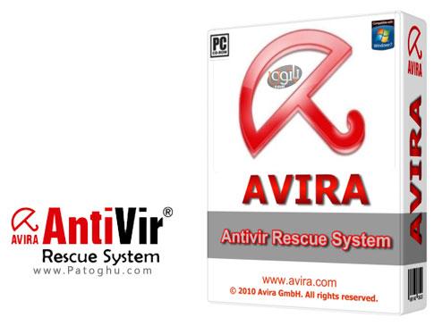 دیسک نجات آنتی ویروس آویرا Avira AntiVir Rescue System v06.03.2015