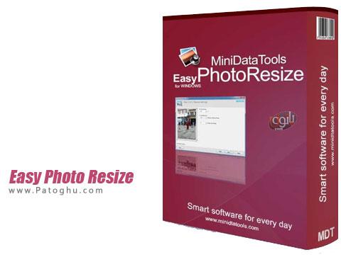 تغییر اندازه تصاویر به صورت دسته ای Easy Photo Resize 1.7.0.425