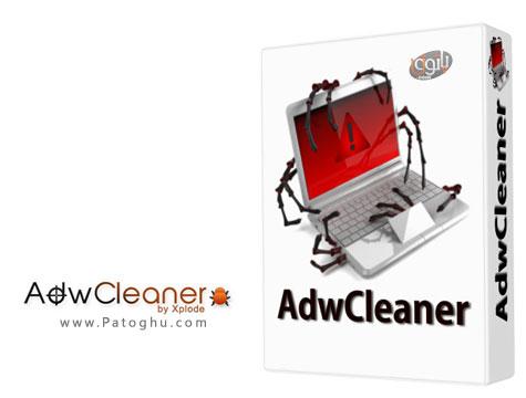 حذف ابزارهای تبلیغاتی و مخرب AdwCleaner 3.022