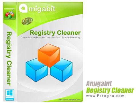 بهینه سازی و پاکسازی رجیتسری ویندوز Amigabit Registry Cleaner 1.0.3