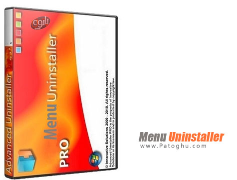 حذف آسان و کامل برنامه های نصب شده Menu Uninstaller Pro v2.0 Final
