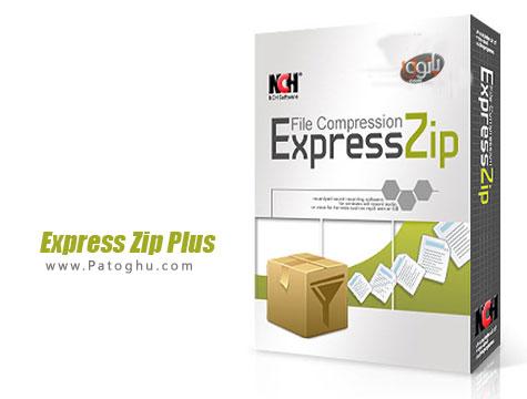 نرم افزار حرفه ای مدیریت فایل های فشرده Express Zip Plus 2.28