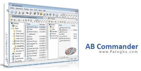 فایل منیجر قدرتمند کامپیوتر AB Commander v9.3.0.1842