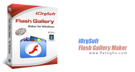 ساخت اسلاید شو فلش از تصاویر iOrgSoft Flash Gallery Maker 1.0.1