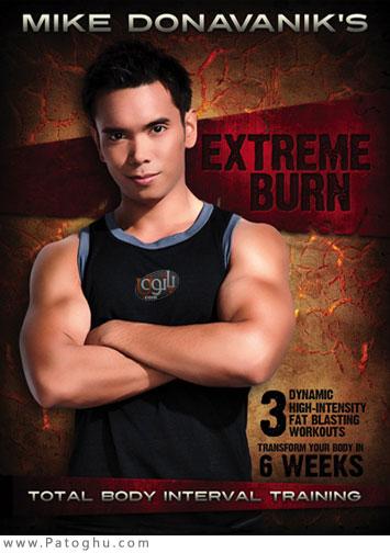 دانلود فیلم حرکات ورزشی برای کاهش وزن در 6 هفته Mike Donavanik's Extreme Burn