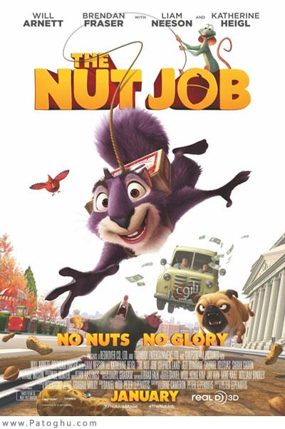 دانلود انیمیشن کمدی عملیات آجیل The Nut Job 2014