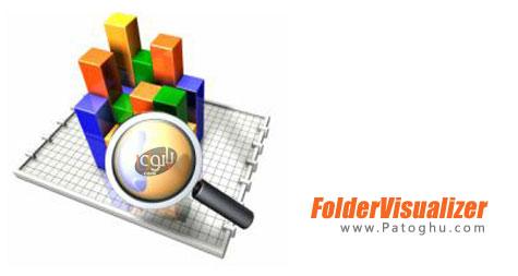 نمایش فضای مصرفی توسط فولدرها در هارد دیسک FolderVisualizer 7.1 Final