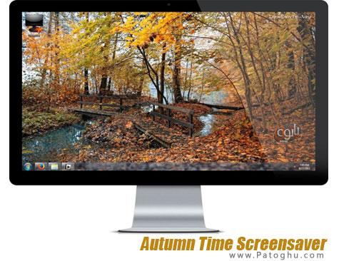 اسکرین سیور بسیار زیبای پاییز Autumn Time Screensaver v5.0