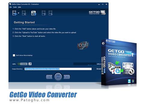 مبدل قدرتمند ویدیو GetGo Video Converter 4.1.0.248
