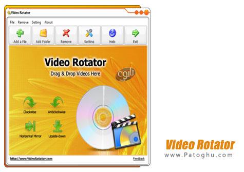 نرم افزار چرخاندن فیلم Video Rotator