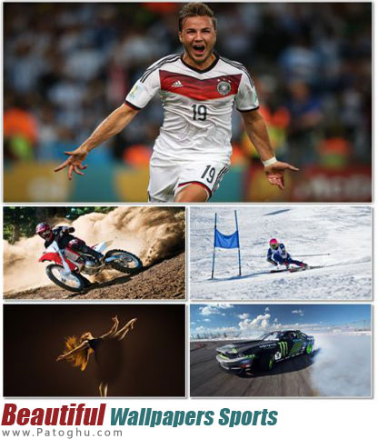 مجموعه عکس پس زمینه ورزشی Beautiful Wallpapers Sports