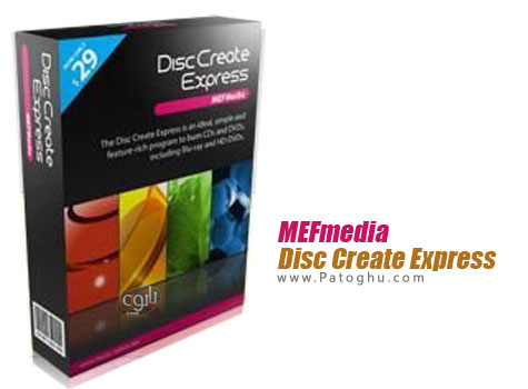 ابزاری ایده آل جهت رایت CD , DVD و بلوری MEFmedia Disc Create Express 6.2.5