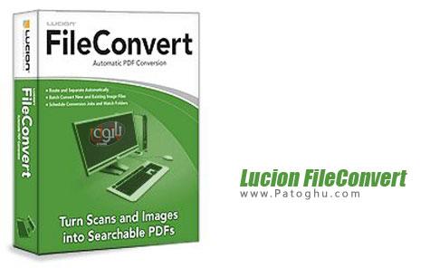 ساخت و تبدیل PDF با Lucion FileConvert Professional Plus